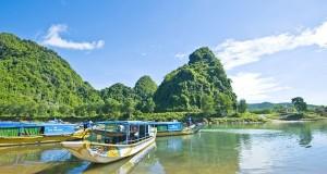 Sông son - Động Phong Nha - Quảng Bình
