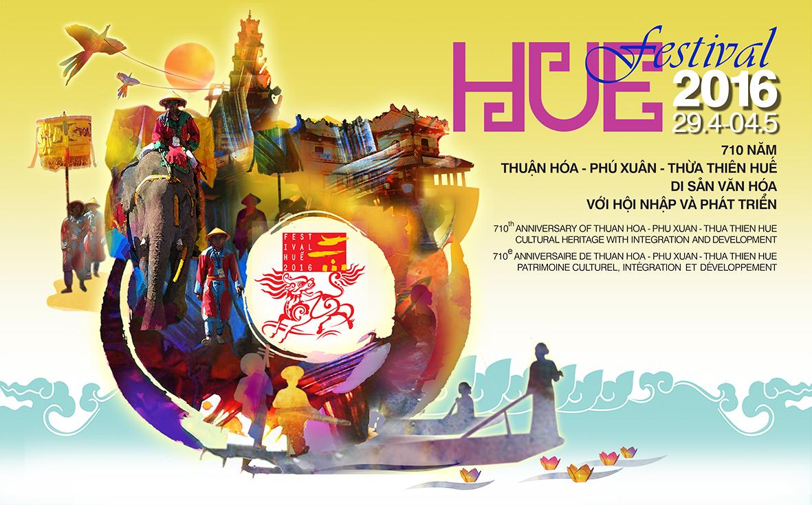 Festival Huế 2016 Các lễ hội và chương trình nghệ thuật Festival Huế 2016