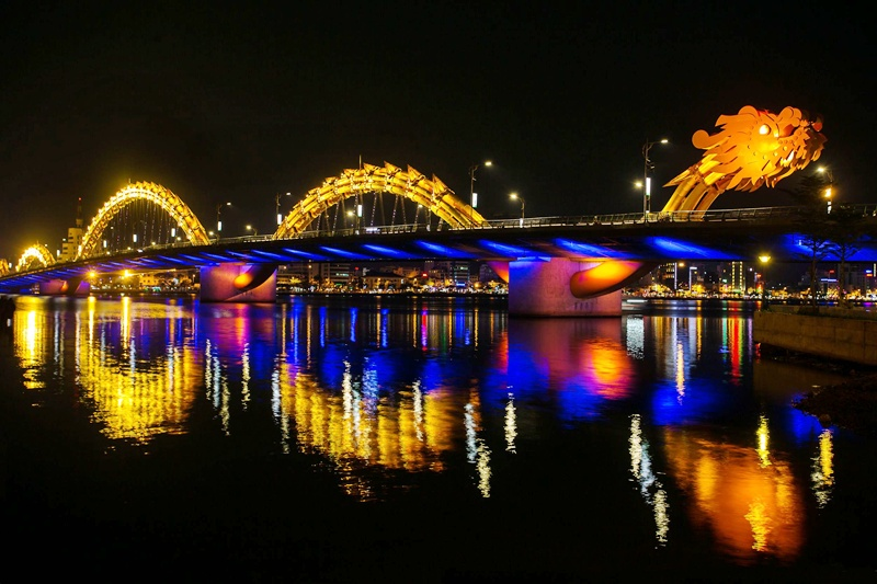 Cầu Rồng Đà Nẵng tour du thuyền sông hàn