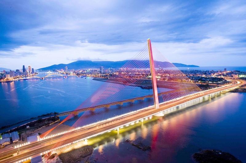 Cầu Trần Thị Lý Tour du thuyền sông Hàn