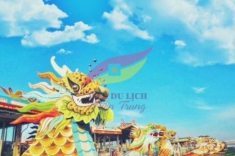 Thuyền rồng Huế Đặt vé nghe Ca Huế thuyền rồng trên sông Hương