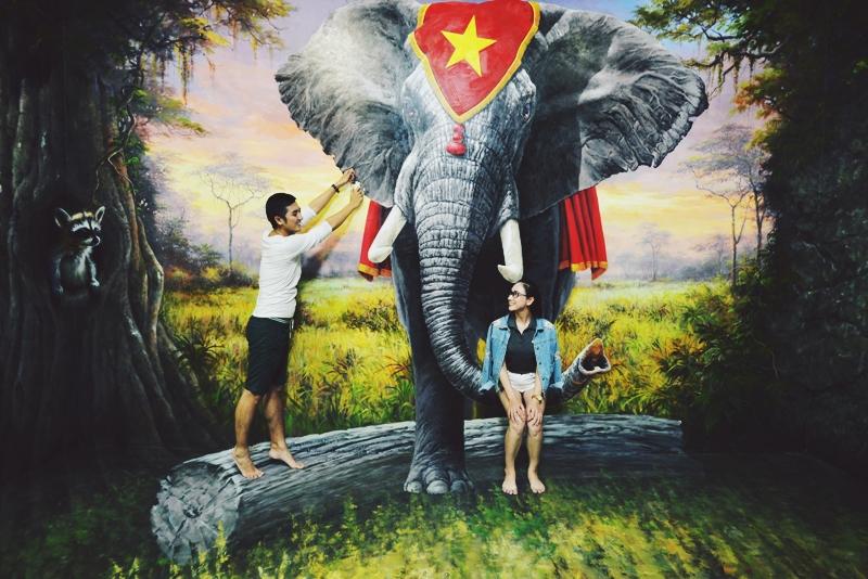 Vé Bảo Tàng Tranh 3D Art in Paradise Đà Nẵng
