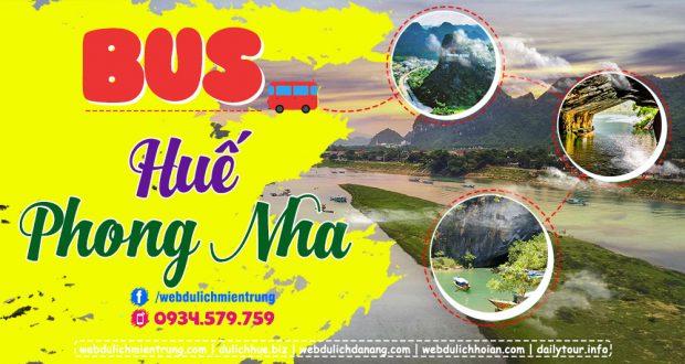 Bus Huế đi Phong Nha