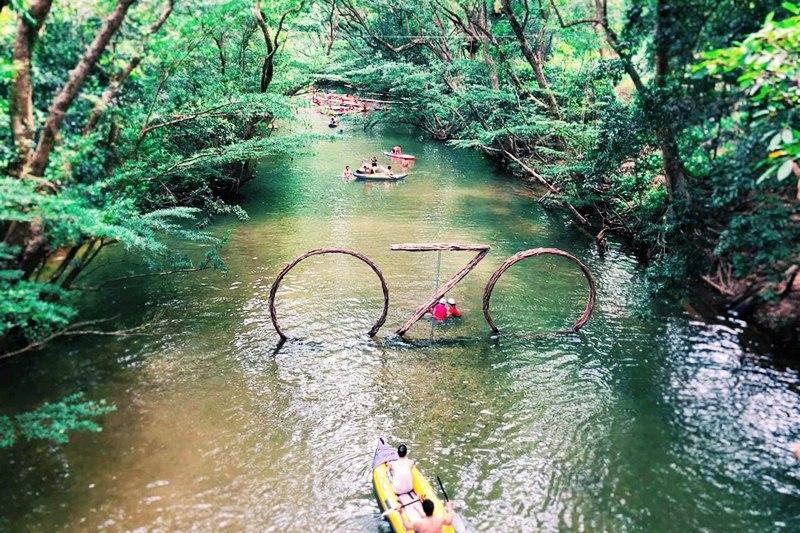 Công viên Ozo Treetop Park - trò chơi trên dây dài nhất Việt Nam